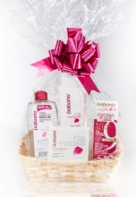 Babaria Rosehip Oil Skin Care Cellophane Wrapped Gift Basket